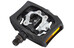 Shimano PD-T400 Pedaler Click'R sort